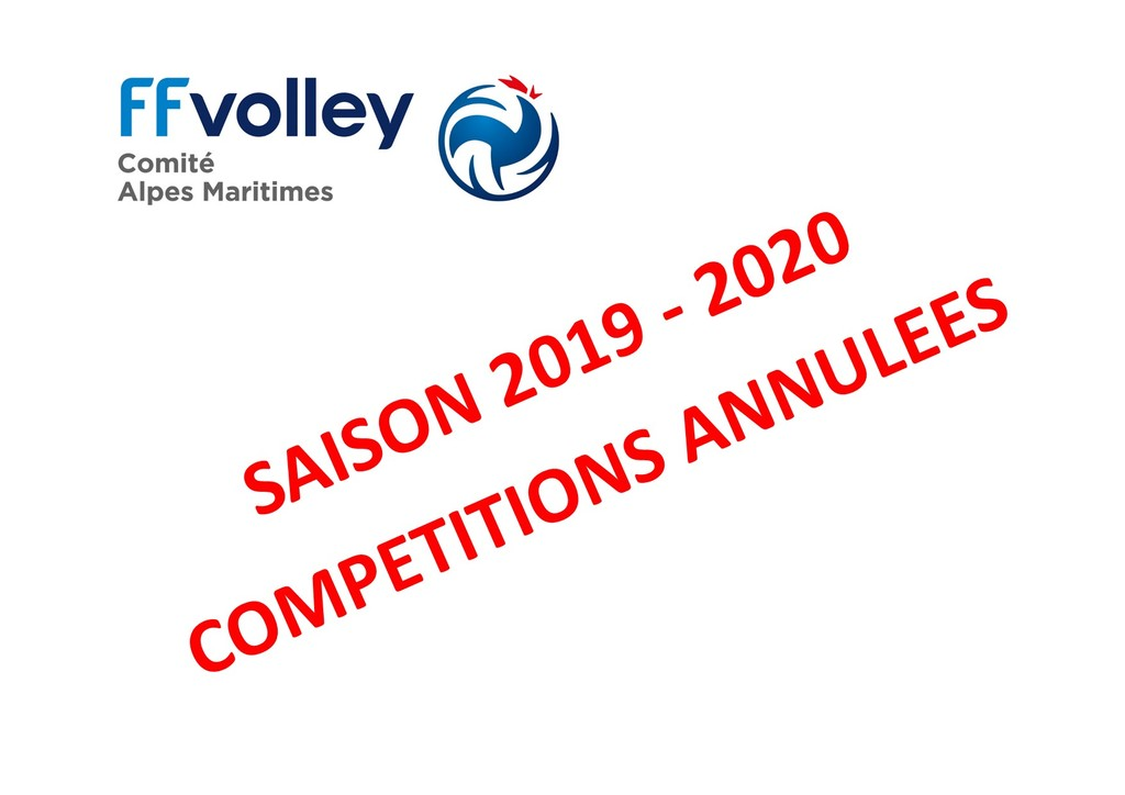 COMPETITIONS ANNULEES