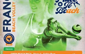 BEACH VOLLEY : TOURNOI FEMININ S2 SOLLIES PONT